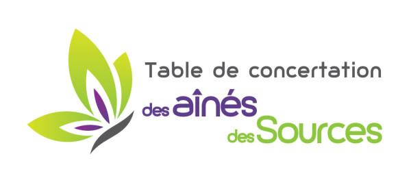 Table de concertation des aînés des Sources – Conception de logo