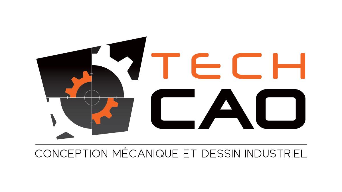 TechCAO – Conception de logo