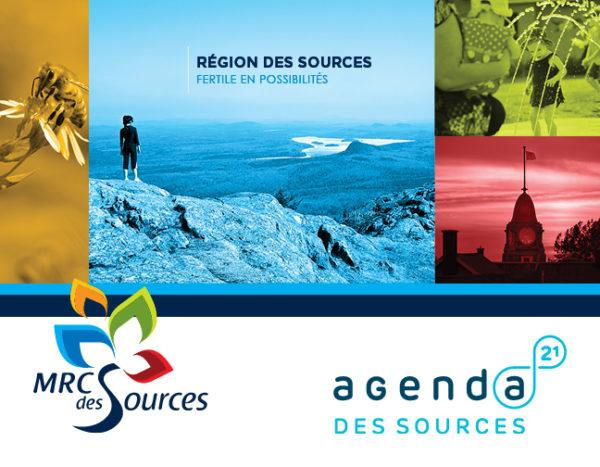 MRC des Sources – Conception brochure