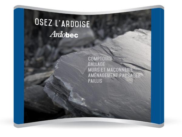 Arbodec – Conception kiosque d'exposition
