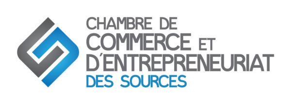 Chambre de commerce et d'entrepreneuriat des Sources – Conception de logo