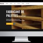 Palco Palette – Conception site Internet
