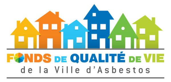 Fonds de qualité de vie de la Ville d'Asbestos – Conception de logo