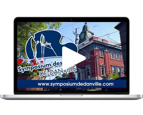 Symposium des art de Danville – publicité télé 2017