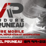 Soudure MPruneau – Conception carte affaire