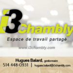i3 Chambly – Conception carte affaire
