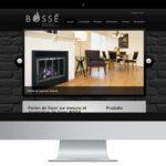 Bossé – Conception site Internet