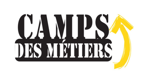 Camp des métiers – Conception logo, affiche, carton promo, bannière