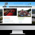 Camp musical d'Asbestos – Conception site Internet
