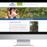 Camping Oiseau Bleu – Conception site Internet