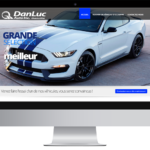 Danluc Auto inc. – Conception site Internet