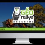 Géorallye Asbestos – Conception site Internet