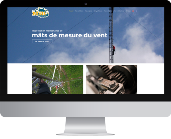Groupe Mill Services – Conception site Internet