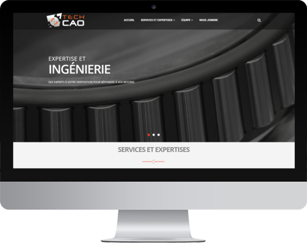 TechCAO – Conception site Internet