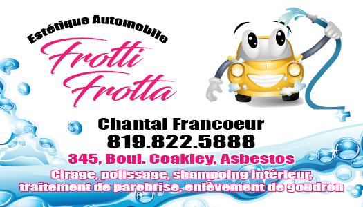 Frotti-Frotta – Conception carte d'affaire