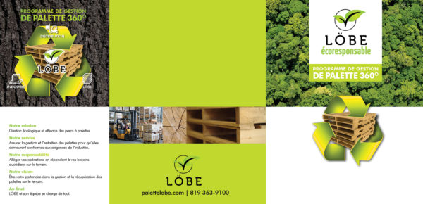 Gestion LOBE – Conception brochure