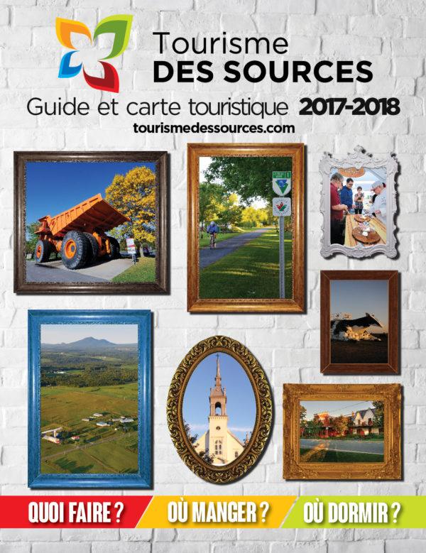 Tourisme des Sources – Conception brochure, guide touristique 2018
