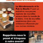 Microbrasserie Moulin7 – Conception carton promotionnel