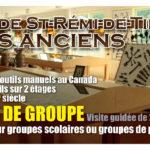 Musé outils anciens – Conception carton promotionnel