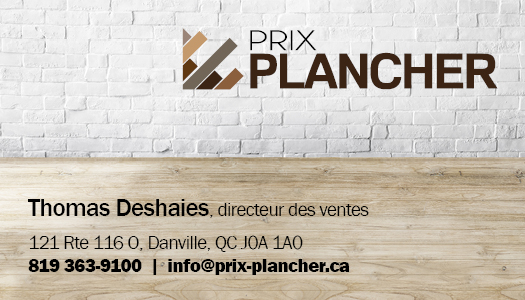 Prix Plancher – Conception carte affaire