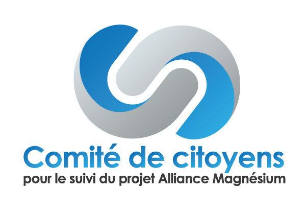 Comité de citoyens pour le suivi du projet Alliance Magnésium – Conception logo