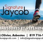 Signature Jaycob – Conception carte affaire