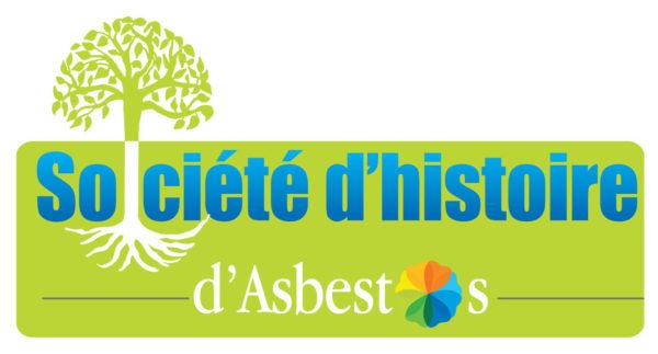 Société d'histoire d'Asbestos – Conception logo