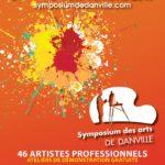Symposium des arts de Danville – Conception affiche, feuillet, brochure