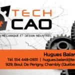 TechCAO – Conception carte affaire