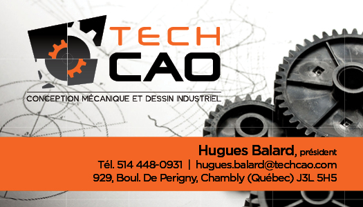 TechCAO – Conception carte affaire