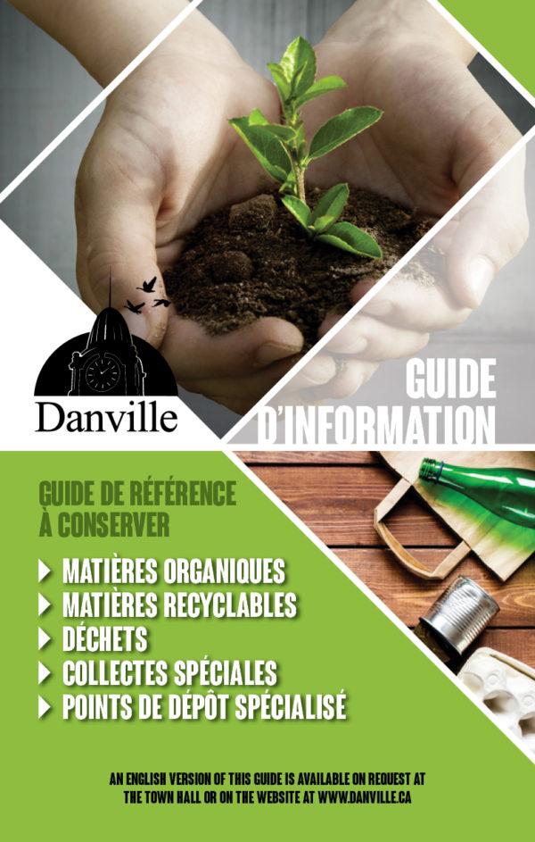 Ville de Danville – Conception brochure, feuillet