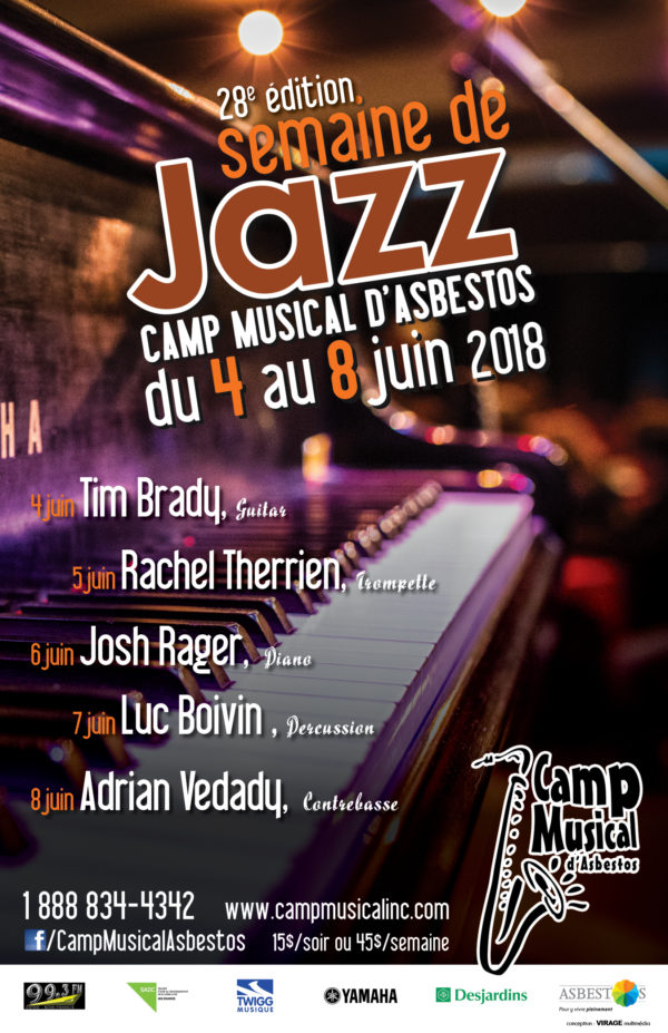 Camp musical d'Asbestos – conception d'affiche